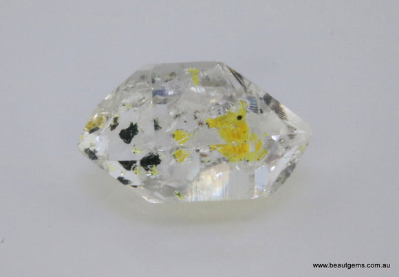 7.10 carat Pakistan Quartz with Petroleum Inclusions