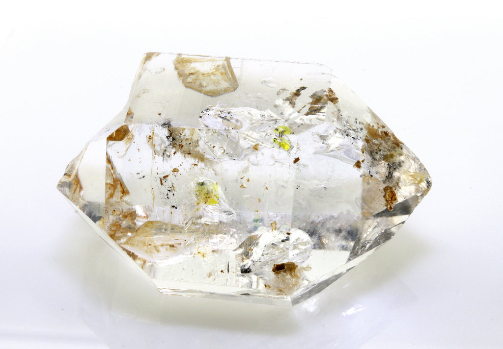 74.33 carat Pakistan Quartz with Petroleum Inclusions