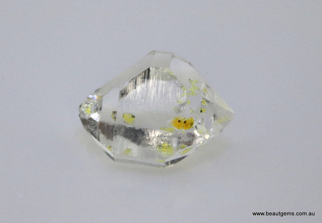 8.09 carat Pakistan Quartz with Petroleum Inclusions