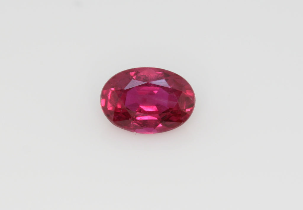 0.55 carat Red Ruby