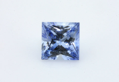 0.77 carat Ceylon Bi-colour Blue and White Sapphire