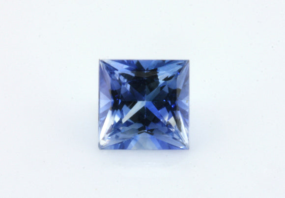 0.85 carat Ceylon Bi-colour Blue and White Sapphire