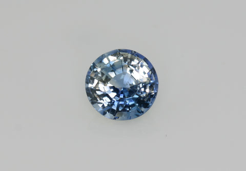 1.26 carat Bi-colour Blue and White Sapphire