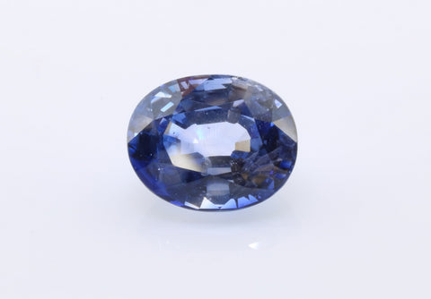 2.57 carat Ceylon Bi-colour Blue and White Sapphire