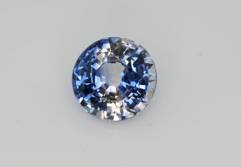 1.14 carat Bi-colour Blue and White Sapphire