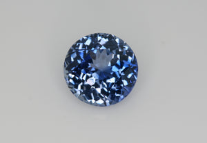 1.25 carat Bi-colour Blue and White Sapphire