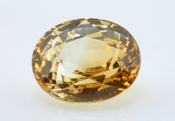 2.19 carat Ceylon Bi-colour Orange and White Sapphire