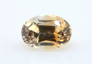 1.05 carat Montana Bi-colour Orange and White Sapphire