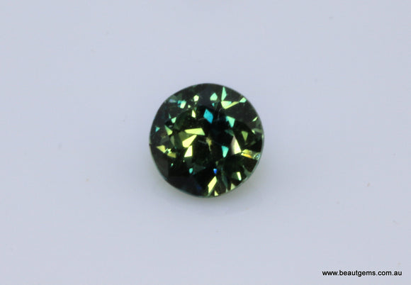 0.52 carat Australia Bi-colour Blue and Yellow Parti Sapphire