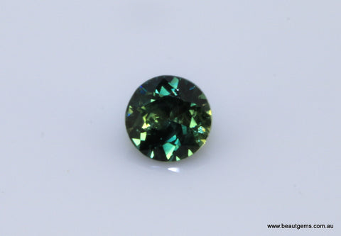 0.54 carat Australia Bi-colour Blue and Yellow Parti Sapphire