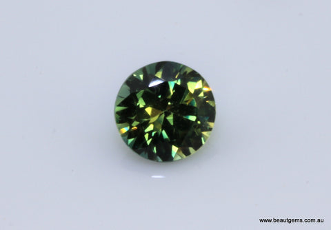 0.58 carat Australia Bi-colour Green and Yellow Parti Sapphire