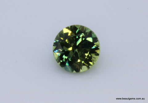 0.61 carat Australia Blue and Yellow Parti Sapphire
