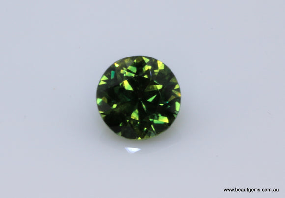 0.61 carat Australia Bi-colour Green and Yellow Parti Sapphire