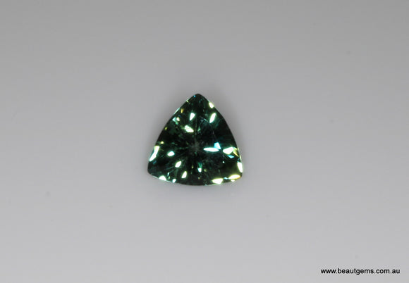 0.91 carat Australia Bi-colour Blue and Green Parti Sapphire