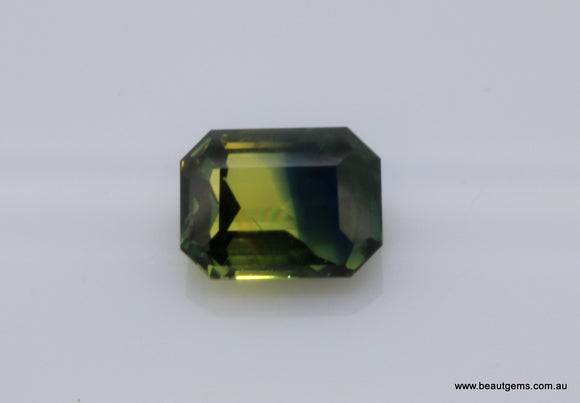 1.03 carat Australia Bi-colour Blue and Yellow Sapphire