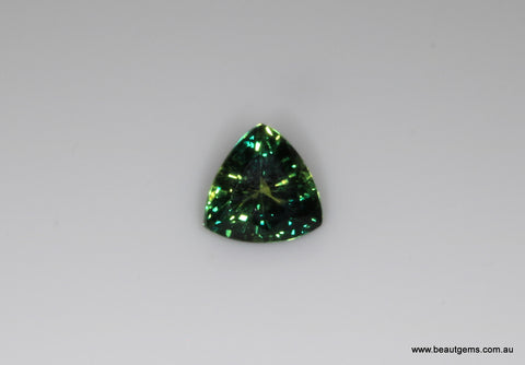 1.09 carat Australia Bi-colour Blue and Green Parti Sapphire