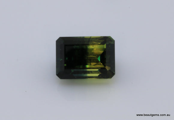 1.87 carat Australia Bi-colour Blue and Yellow Parti Sapphire
