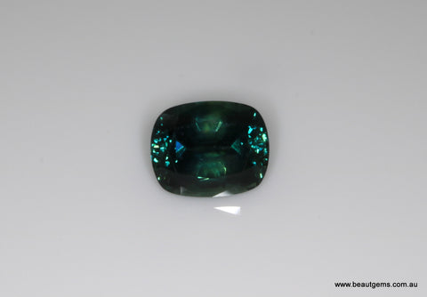2.69 carat Australia Bi-colour Blue and Green Parti Sapphire