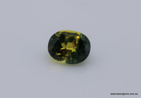 1.07 carat Australia Bi-colour Blue and Yellow Parti Sapphire