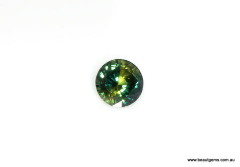 1.28 carat Australia Bi-colour Blue and Yellow Parti Sapphire