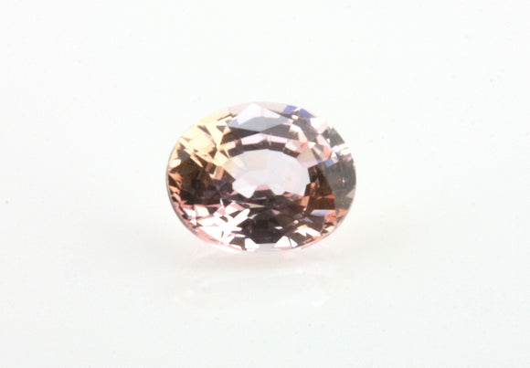 0.66 carat Bi-colour Pink and Yellow Sapphire