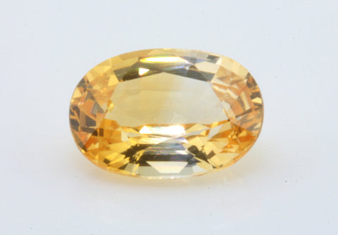 1.02 carat Ceylon Bi-colour Orange and White Sapphire