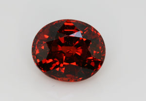4.08 carat Red Spessartite Garnet
