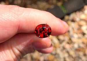 4.56 carat Nigeria Red Spessartite