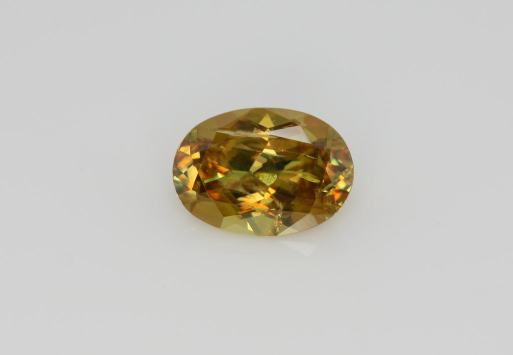 0.84 carat Yellow Pakistan Sphene