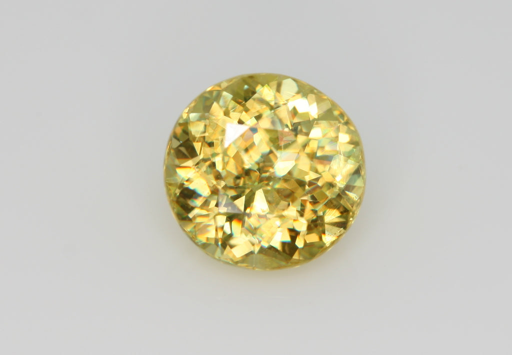 1.28 carat Yellow Madagascar Sphene