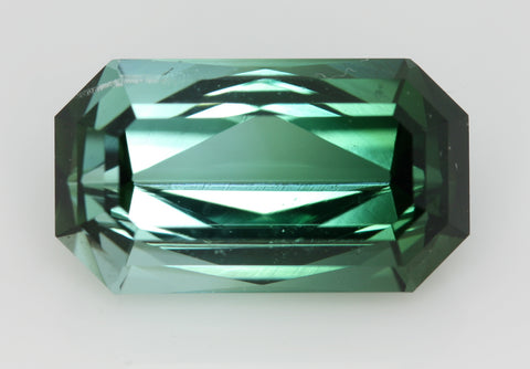 4.33 carat Afghanistan Bi-colour Green and White Tourmaline