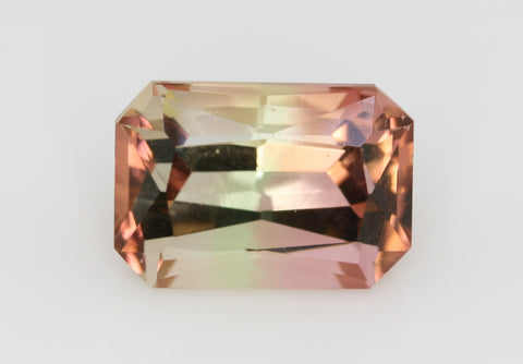5.66 carat Nigeria Bi-colour Pink and Green Tourmaline