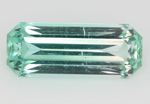 6.71 carat Afghanistan Bi-colour Green and White Tourmaline