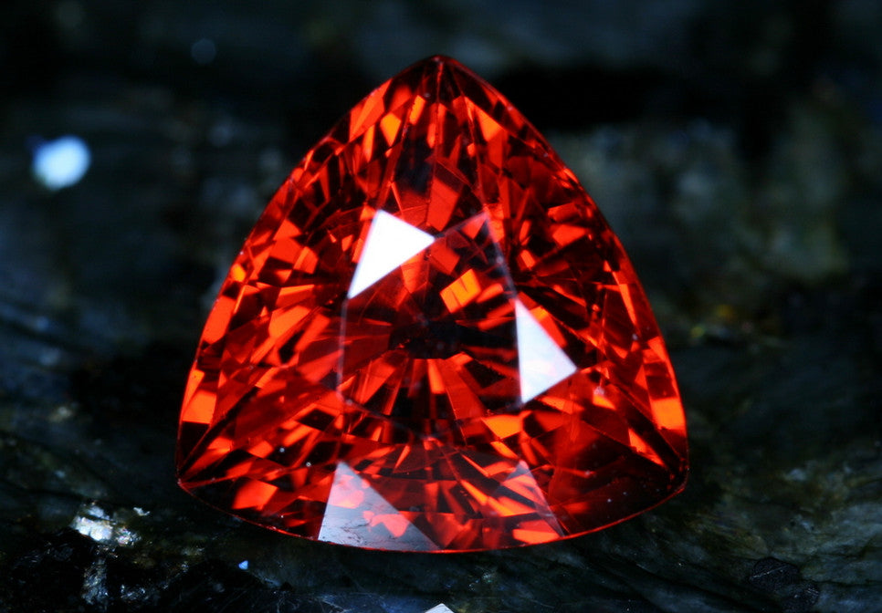 5.91 carat Red Spessartite Garnet