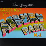 Bruce Springsteen ‎– Greetings From Asbury Park, N.J.