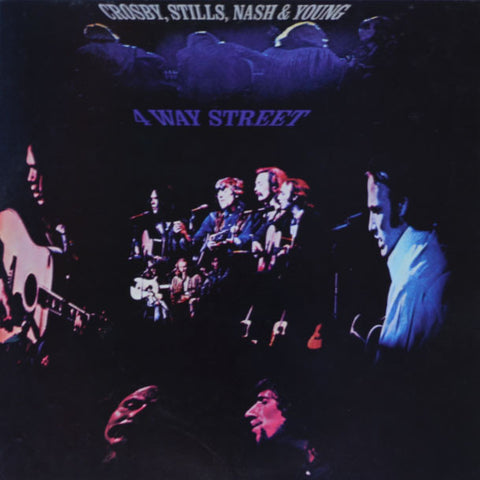 Crosby, Stills, Nash & Young ‎– 4 Way Street