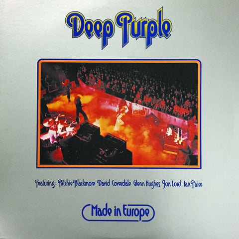Deep Purple ‎– Made In Europe