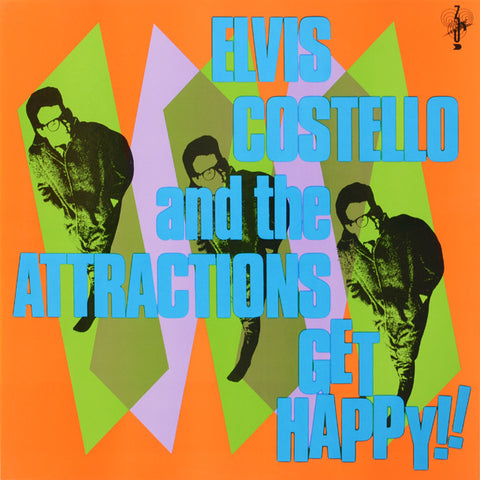 Elvis Costello & The Attractions ‎– Get Happy!