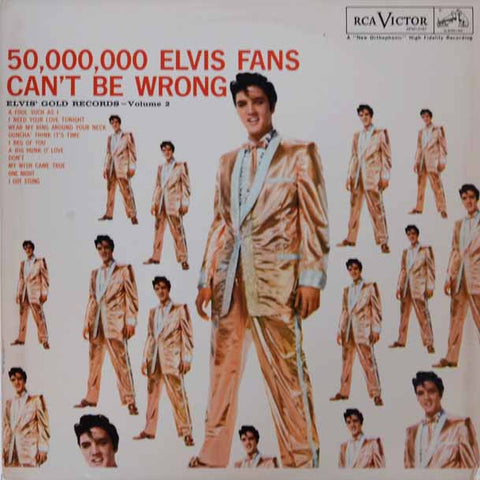 Elvis Presley – 50,000,000 Elvis Fans Can't Be Wrong (Elvis' Gold Records, Vol.