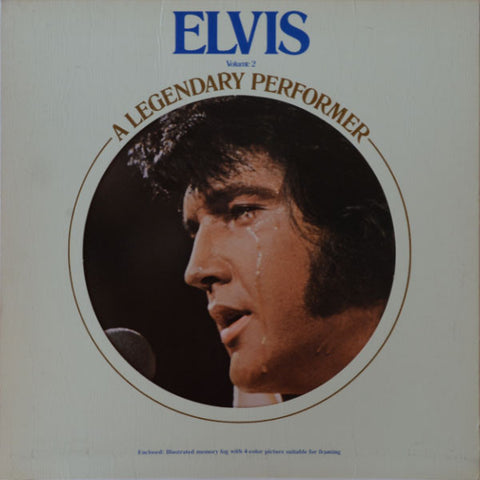 Elvis Presley ‎– A Legendary Performer - Volume 2