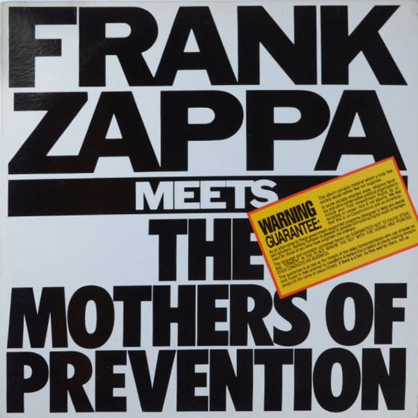 Frank Zappa ‎– Frank Zappa Meets The Mothers Of Prevention