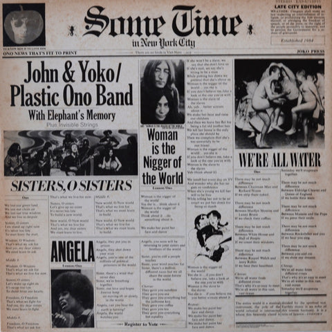 John & Yoko / Plastic Ono Band With Elephant's Memory and Invisible Strings ‎– S