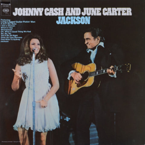 Johnny Cash And June Carter ‎– Jackson