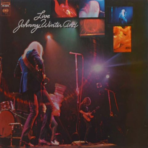 Johnny Winter And ‎– Live Johnny Winter And