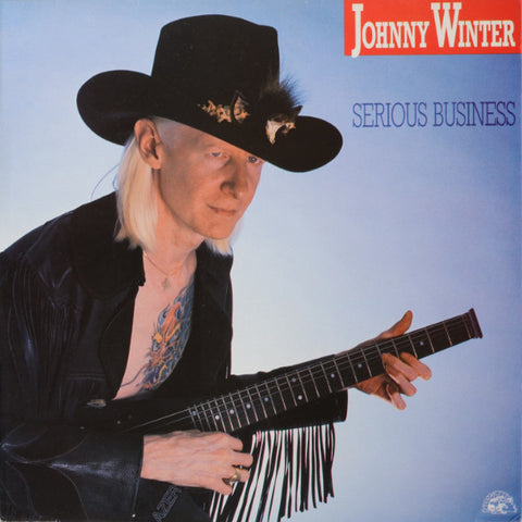 Johnny Winter ‎– Serious Business