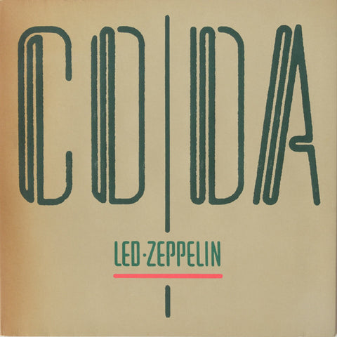 Led Zeppelin ‎– Coda