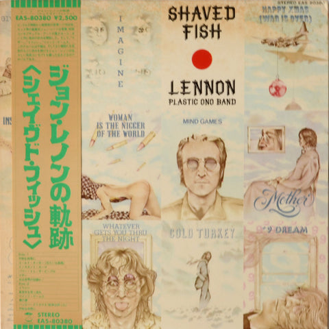 Lennon / Plastic Ono Band ‎– Shaved Fish