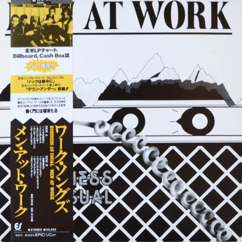 Men At Work ‎– Business As Usual
