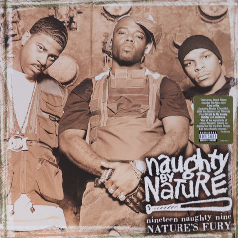 Naughty By Nature ‎– Nineteen Naughty Nine - Nature's Fury