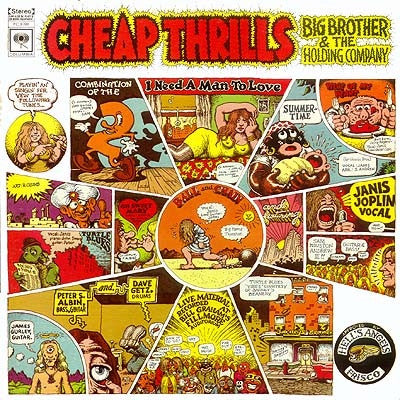 Big Brother & The Holding Company  ‎– Cheap Thrills